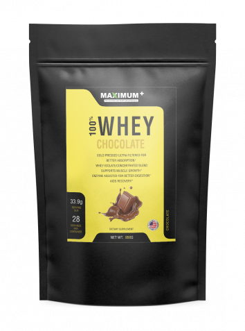 100% Whey Protein (Chocolate) - 2 lbs - 28 Servings per pack